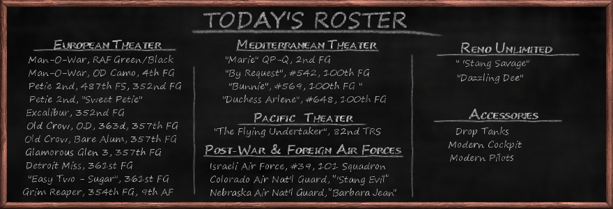 Aircraft Roster